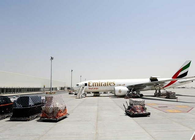IN PHOTOS: Emirates SkyCargo launches operations at DWC