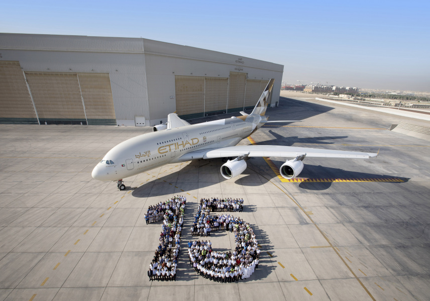 Etihad Airways celebrates 15th anniversary in style