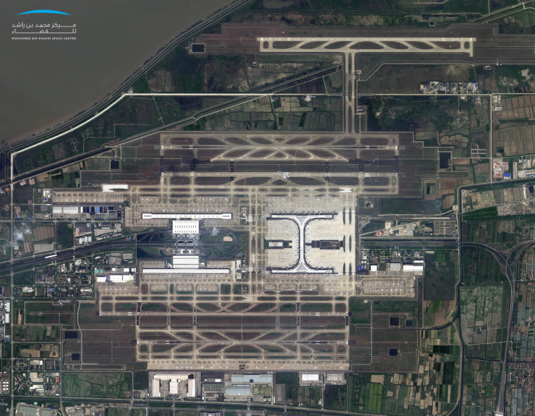 IN PICS: Satellite images show the world's deserted airports