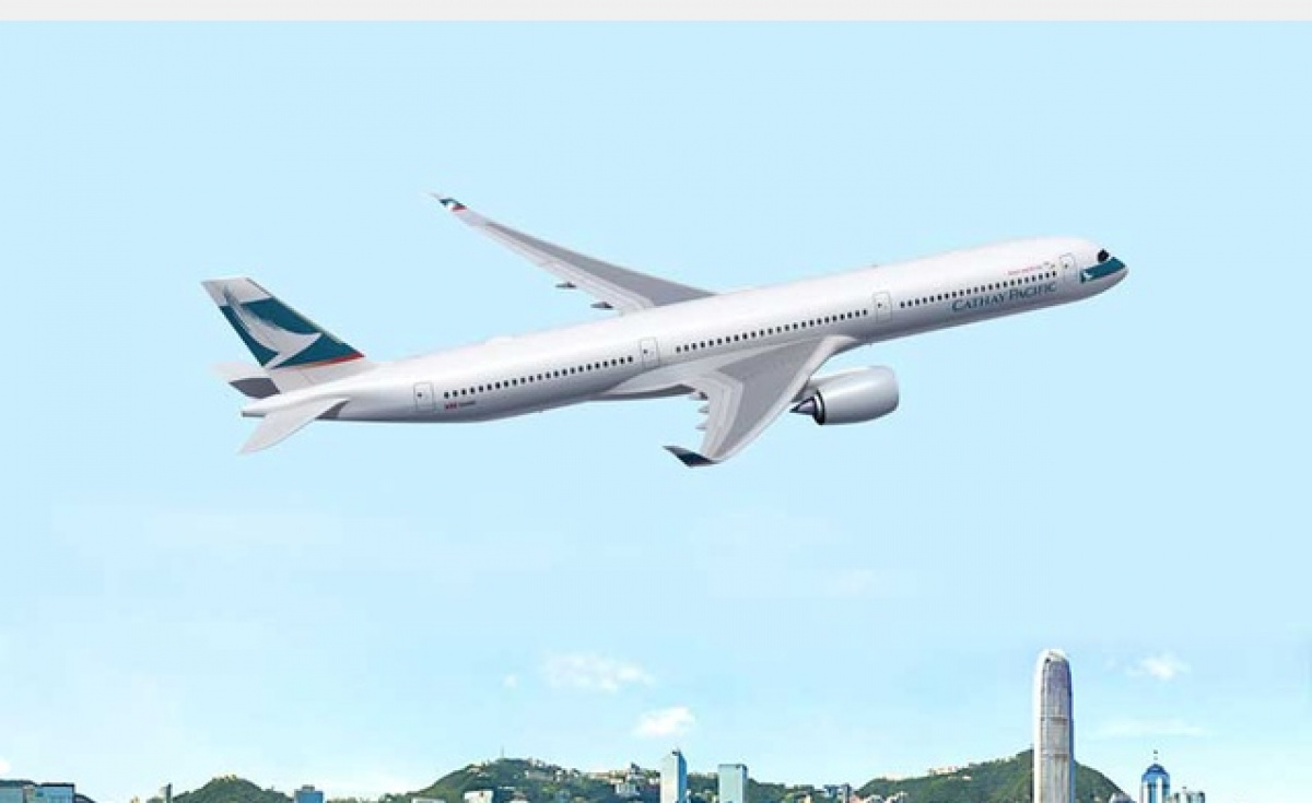 Cathay Pacific, Airbus A350-900, Airbus A350-1000