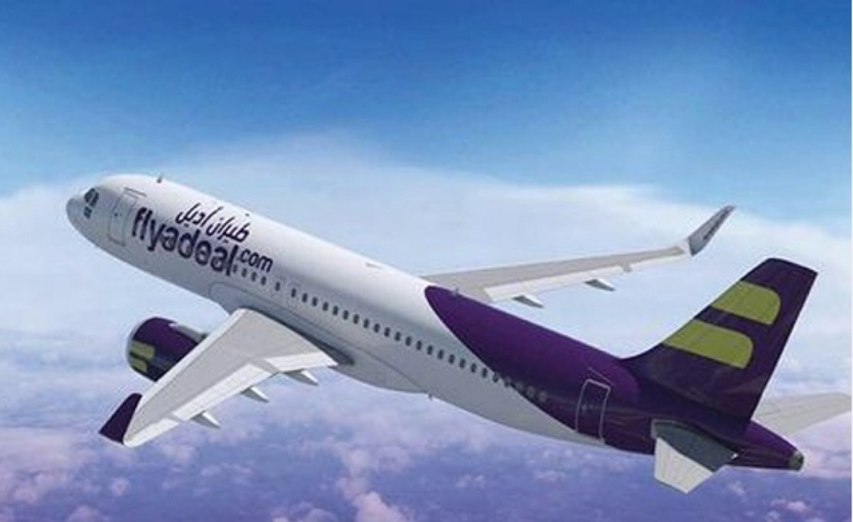 flyadeal, a subsidiary of Saudi Arabian Airlines, offers affordable flights within Saudi Arabia.