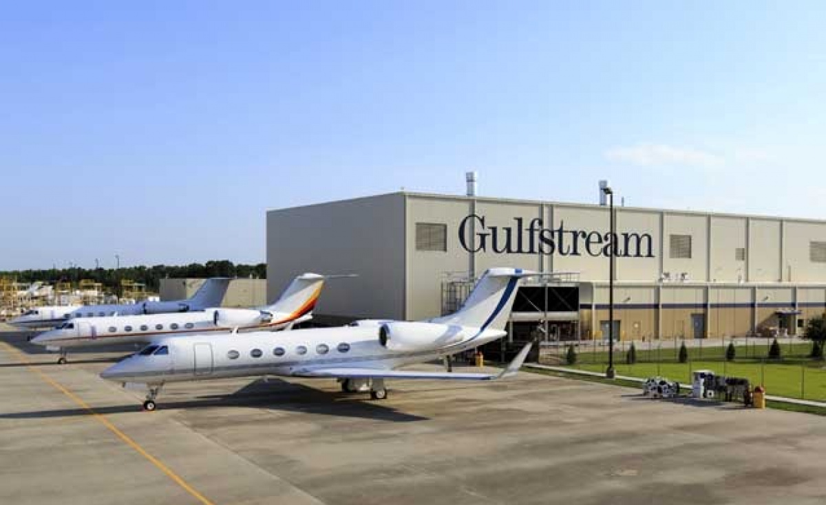 Gulfstream: Demand for enhancements to in-service planes is strong.