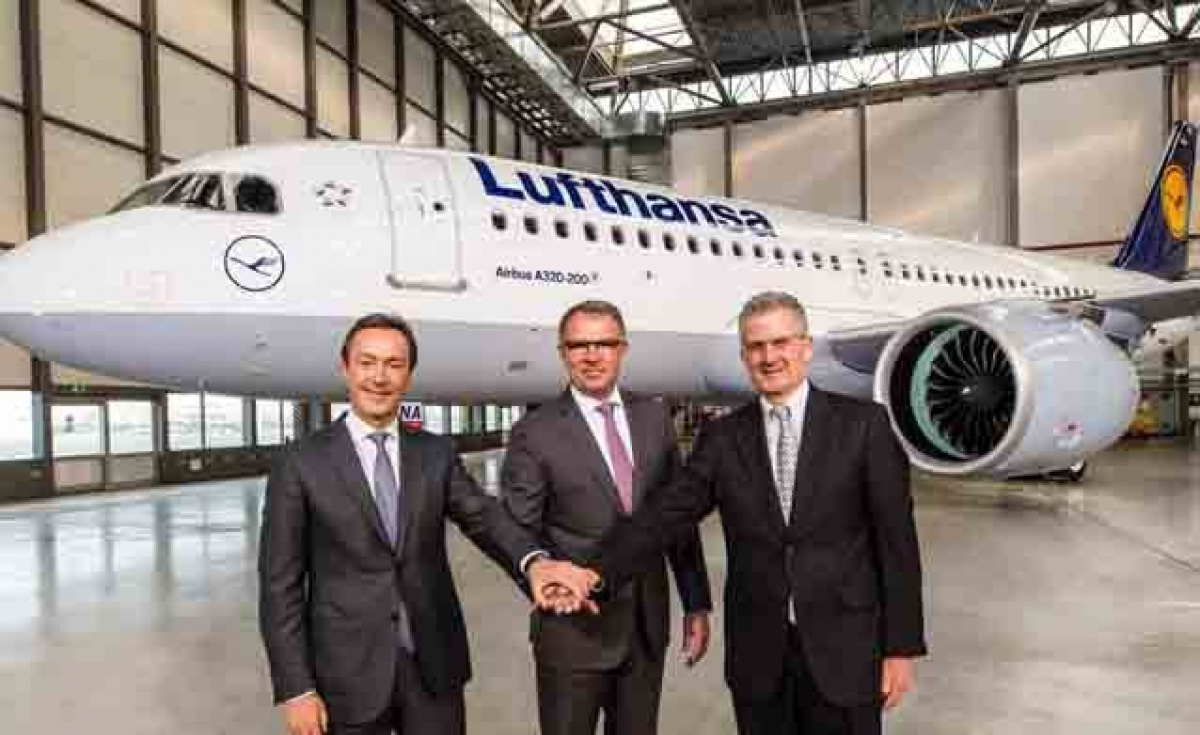 Lufthansa becomes launch customer of the A320neo