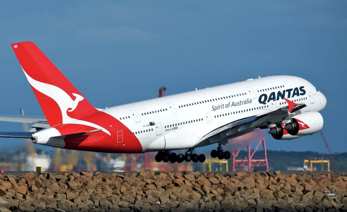 Qantas' boss has warned that poor profitability among some carriers in the Asia-Pacific region puts them in a difficult position amid the coronavirus outbreak