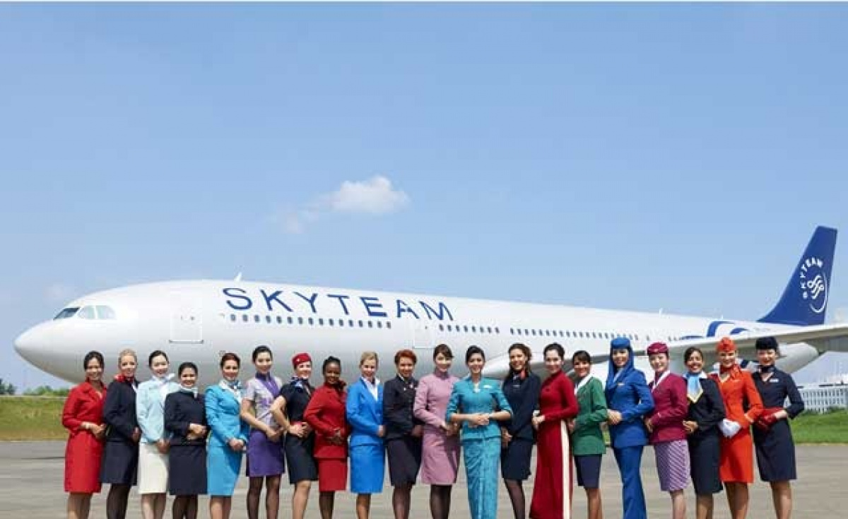 SkyTeam is celebrating 15 years of existence.