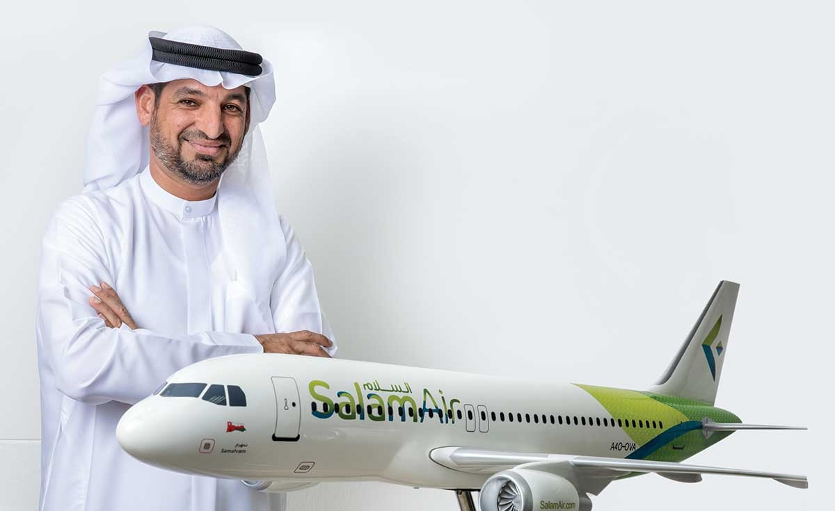 Captain Mohamed Ahmed, CEO of SalamAir.