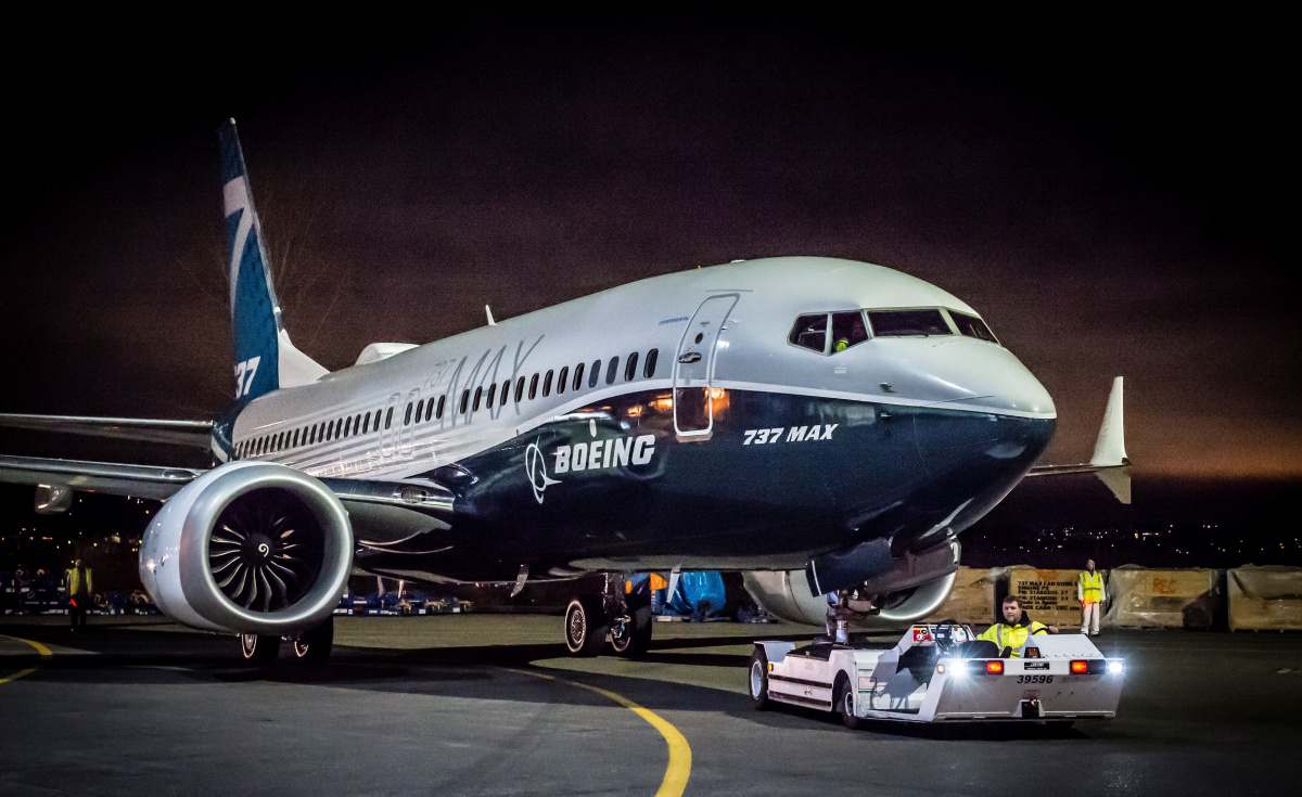 Boeing's 737 Max remains grounded.