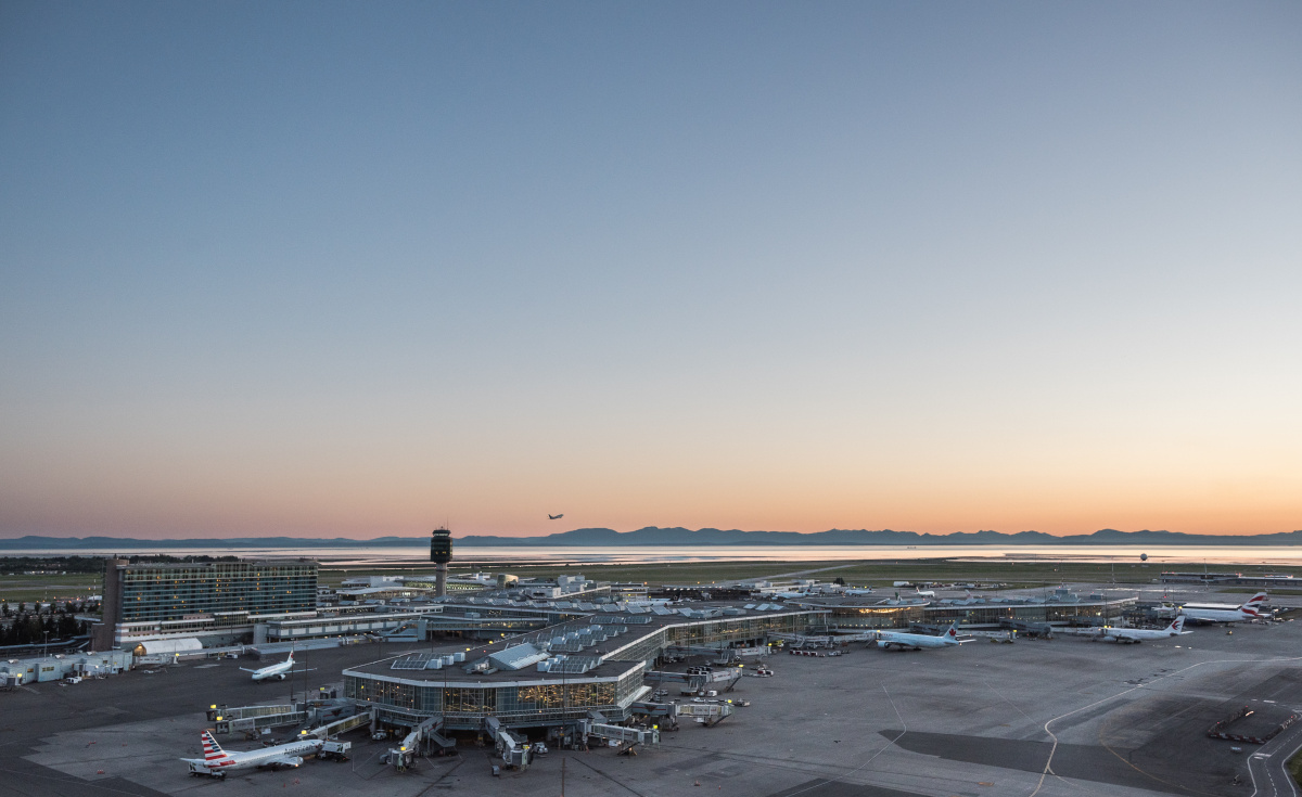 Dnata's upcoming facility will help support airlines departing Vancouver International Airport.