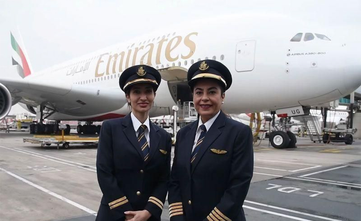 Emirates currently employs nearly 27,000 women, making up 42 percent of the group's workforce.