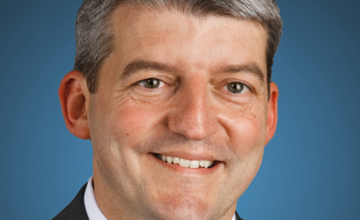 Colin Mahoney, senior vice president of International and Service Solutions at Rockwell Collins.
