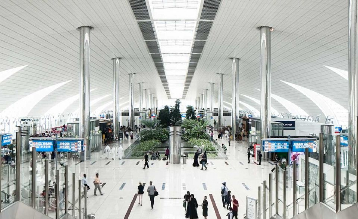 The airport operator has reportedly collected 16 tonnes of single-use plastic bottles and bottle caps at DXB over the past six months alone.