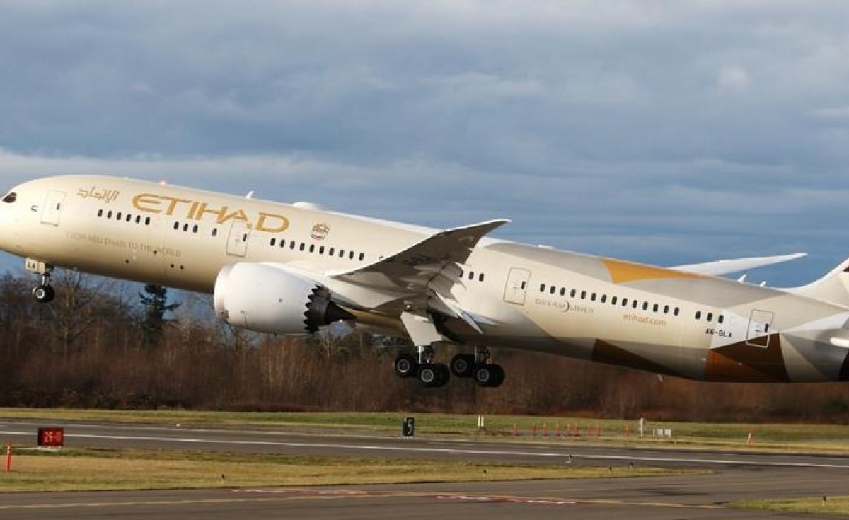 The project aims to use final jet fuel on Etihad Airways' flights.