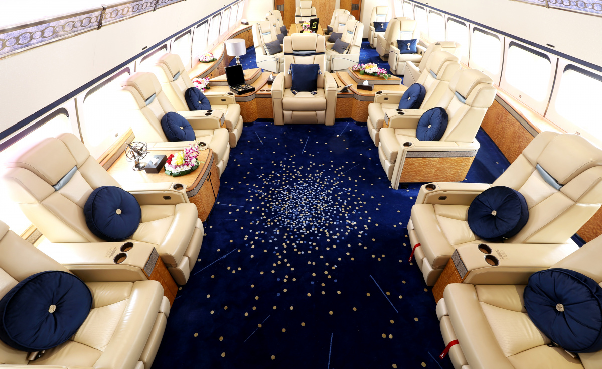 In 2017, the private charter airline reported a record growth of 40% in charter flights.