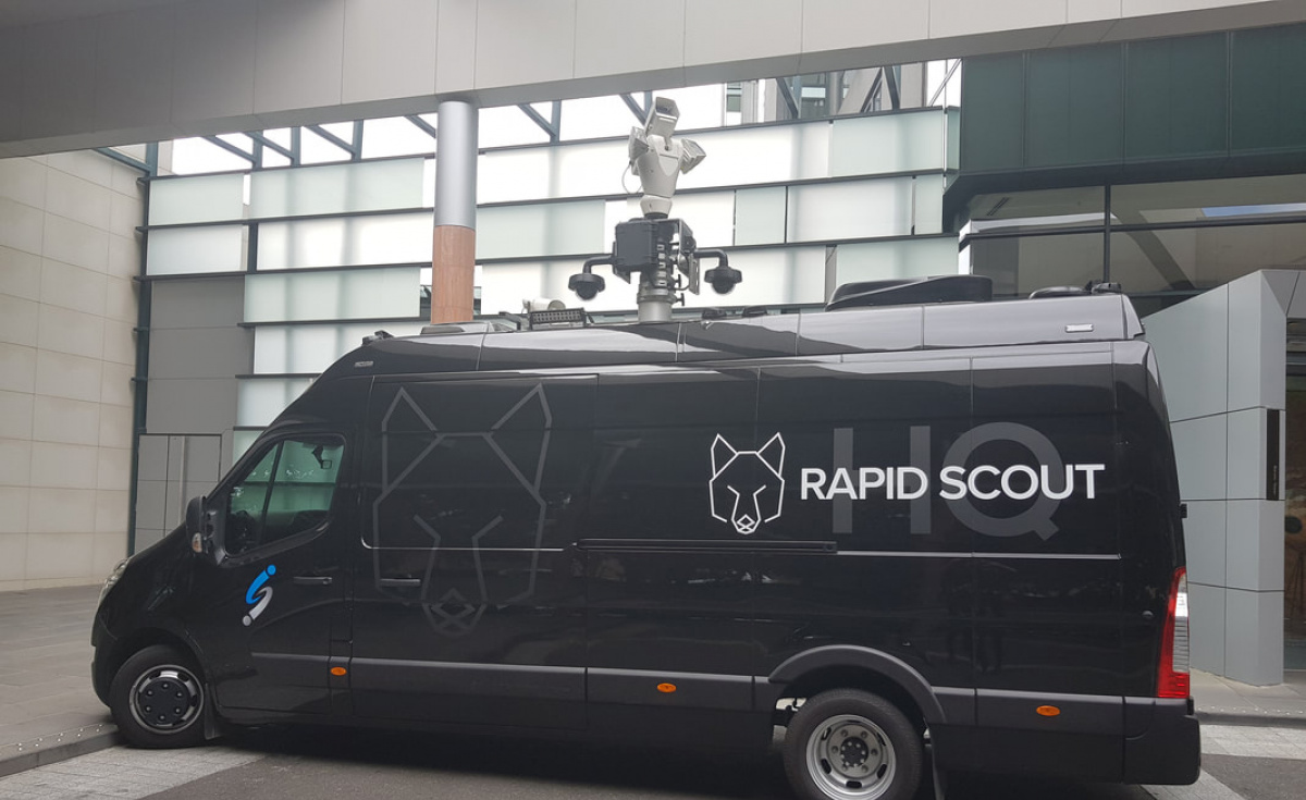 Australian companies DroneShield and Intelligent Security Integration (ISI) have collaborated on the Rapid Scout system, an anti-drone system and command centre housed in a van.