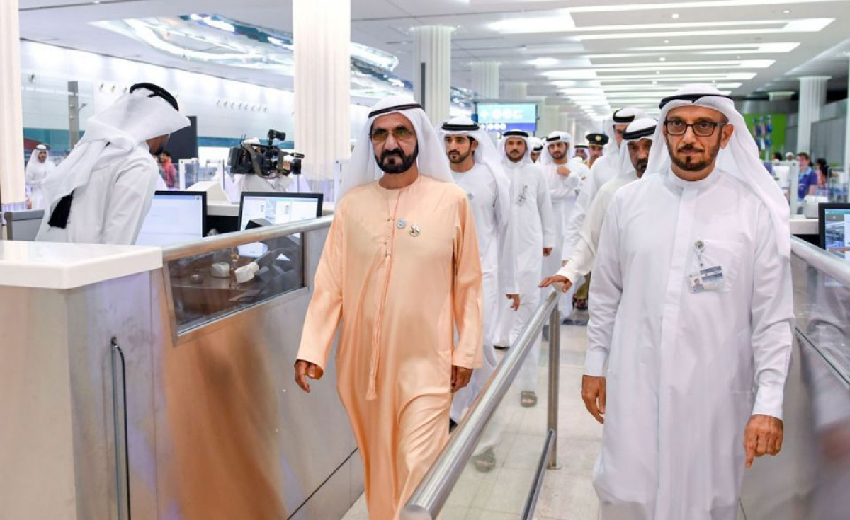 Sheikh Mohammed bin Rashid Al Maktoum, Vice President, Prime Minister and Ruler of Dubai, has praised facilities at Dubai International Airport following an inspection.