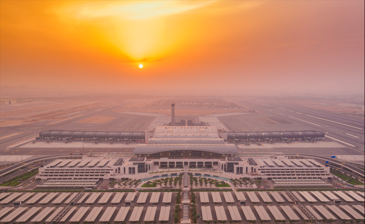The $1.8-billion airport terminal was unveiled back in March 2018.