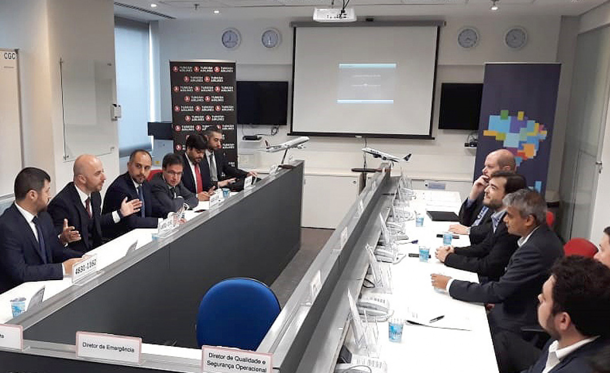 The signing of the new FFP agreement was conducted at Azul Brazilian Airlines Headquarters in Sao Paulo.