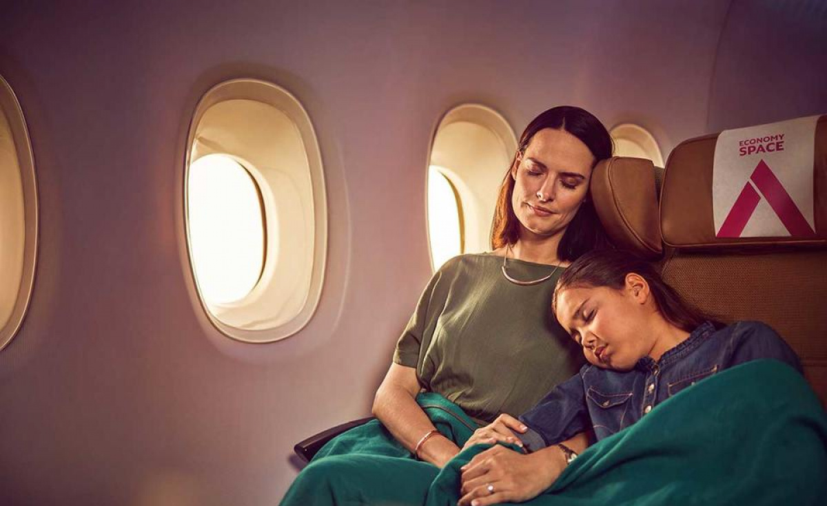 The new seats will feature an increased seat pitch of up to 36 inches, Etihad Airways said.