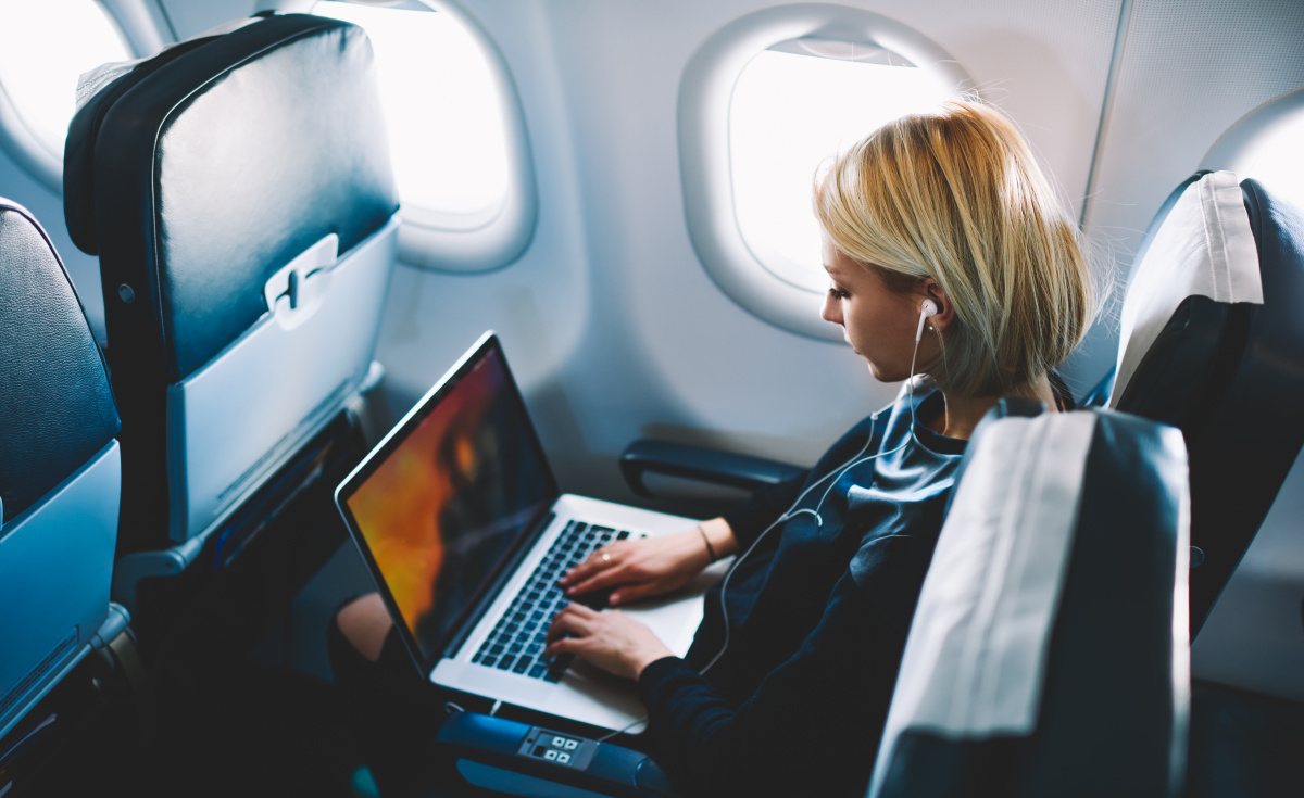 Inmarsat's survey showed that 84% of survey respondents would likely rebook with an airline, if high-quality inflight Wi-Fi were available, while 90% of business travellers report that with internet access, they would likely be productive inflight.