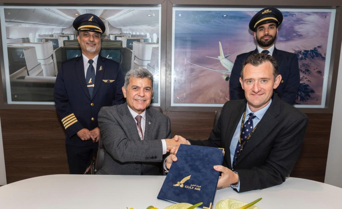 Building upon the recent signing of a MoU between the two companies at the Bahrain International Airshow in November, Gulf Air will dry lease EAT's Full Flight Simulators at the training facility located in Abu Dhabi.