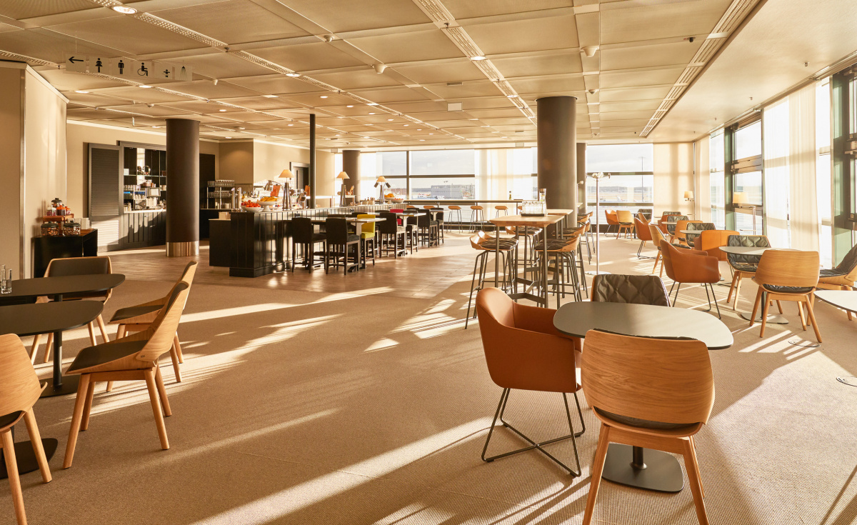 The new lounge space has allowed the airline to increase the number of seats it can offer its business class travellers by 40%.
