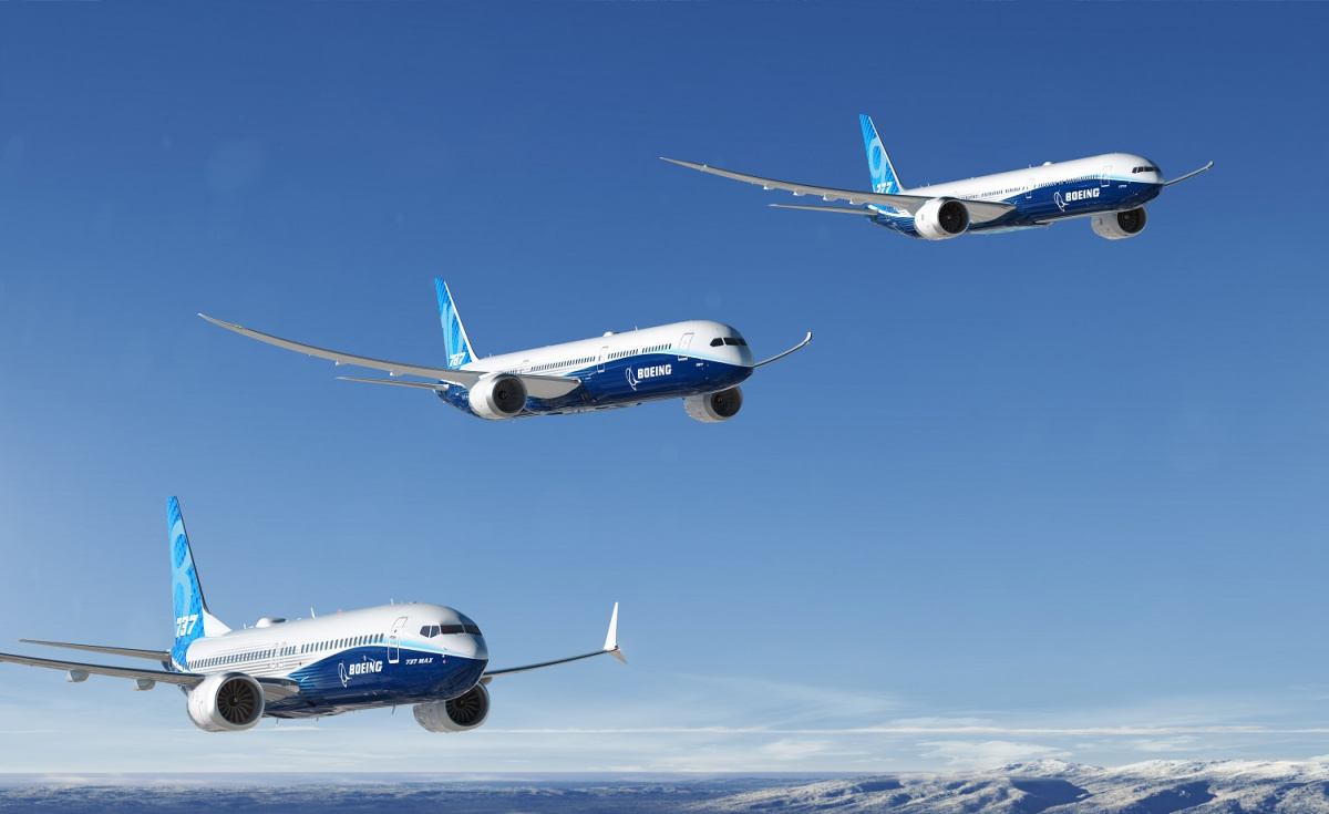 Boeing managed to grow its order book over 2018, recording 893 net orders that included 203 sales in December and equated to a total value of $143.7bn according to list prices.