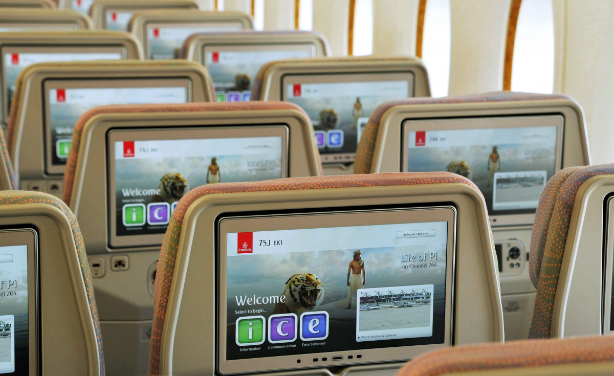 The new function is currently available on over 100 Emirates Boeing 777 aircraft and is expected to be rolled out across the airline's A380 aircraft over 2019.