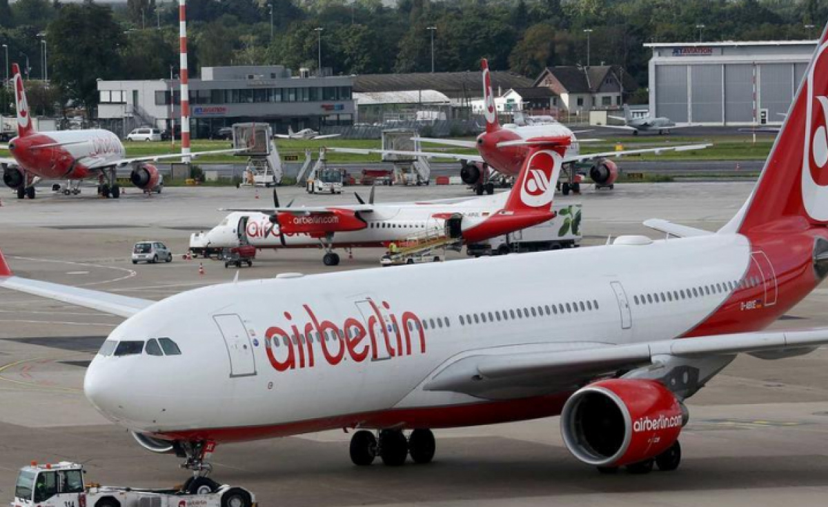 Air Berlin went bust after Etihad Group withdrew its support in August 2017.
