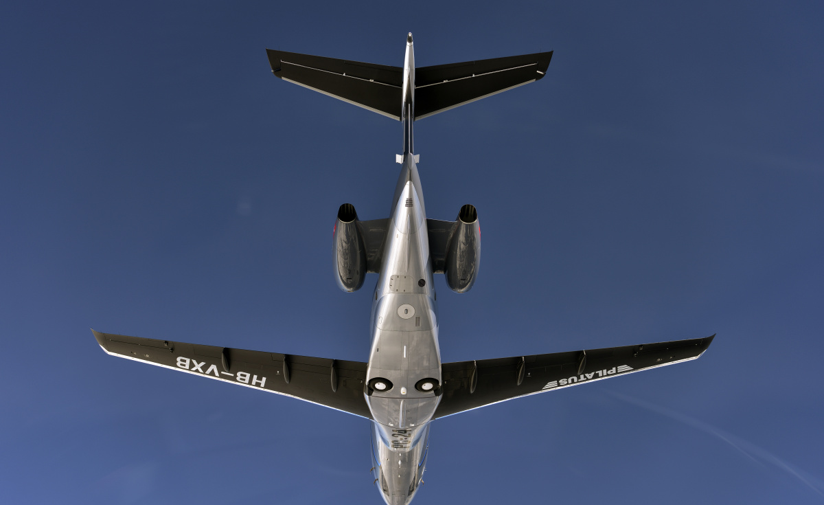 Composed of 25 sub-assemblies, the belly fairing produced by Strata is designed to reduce drag on the business jet.
