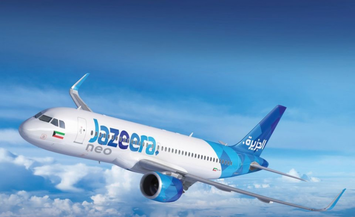 Jazeera Airways has announced a 42.8% jump in passenger numbers to two million in 2018.