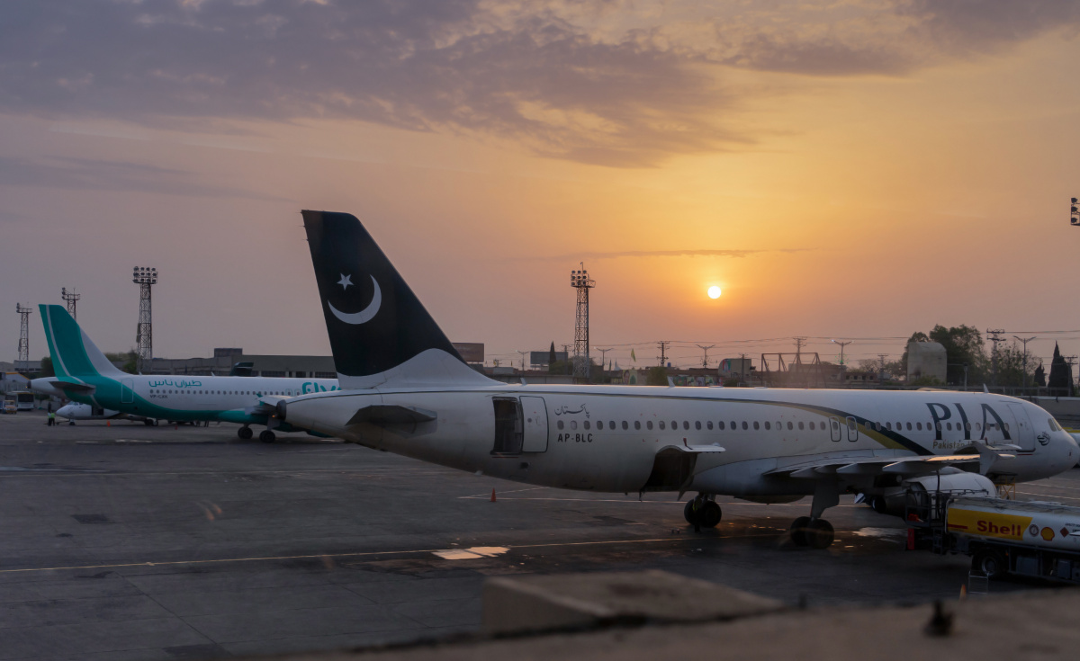 Commercial flight operations have ceased in Pakistan until further notice.