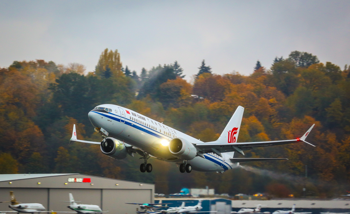 A number of Chinese carriers have adopted the Boeing 737 MAX 8 aircraft including Air China and China Southern Airlines.