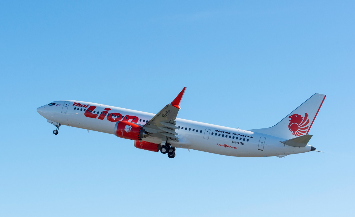 Boeing delivered its very first 737 MAX 9 to Thai Lion Air The MAX 9s extra capacity will help the airline add several international routes PRNewsfotoBoeing