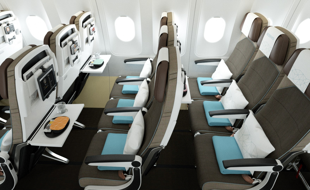 In addition to the novel seat improvements and entertainment platform, the airline has also revealed it is transforming the Economy dining experience on all of its flights.