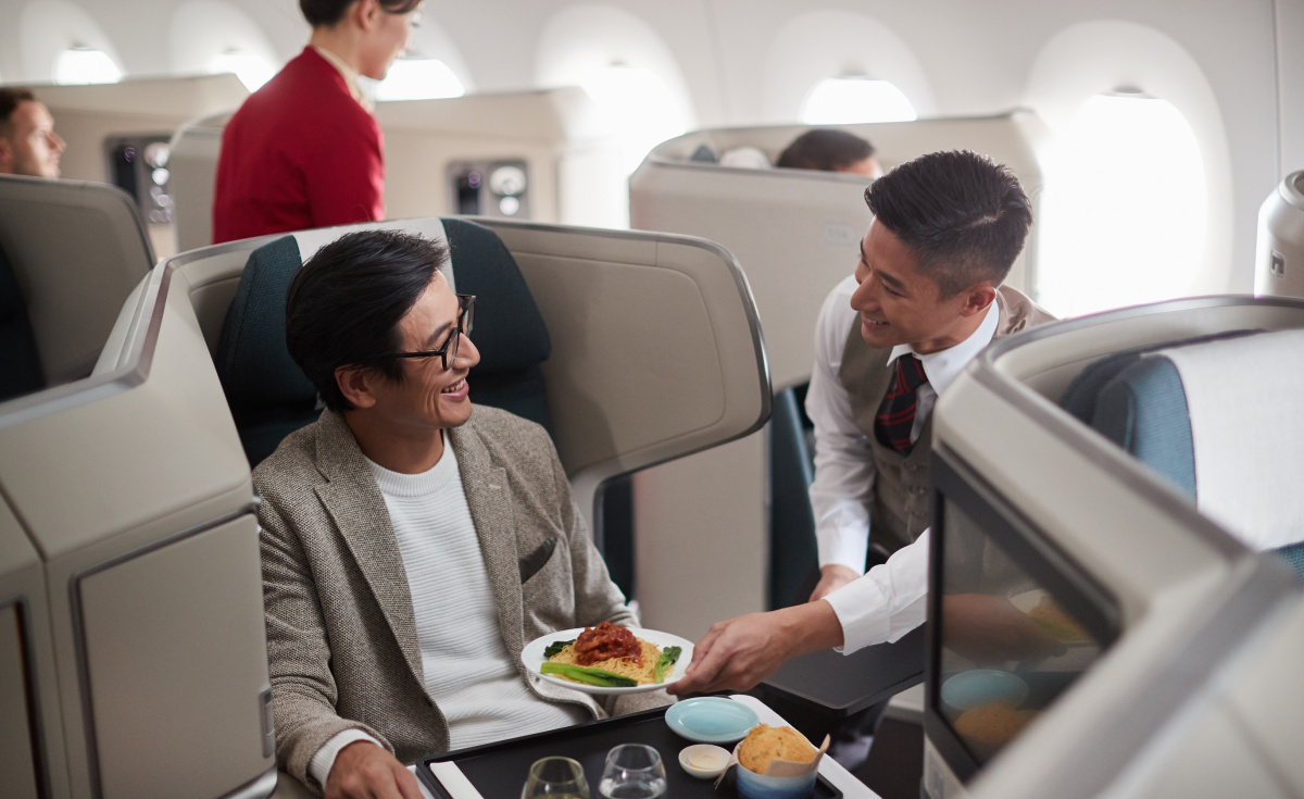 The flagship carrier of Hong Kong is expected to roll out a new business class experience in the second half of 2019.