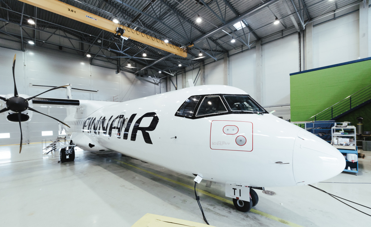 As per the agreement, the MRO service provider will complete a full interior refurbishment for each ATR aircraft, while also updating the livery to match Finnair's colours.