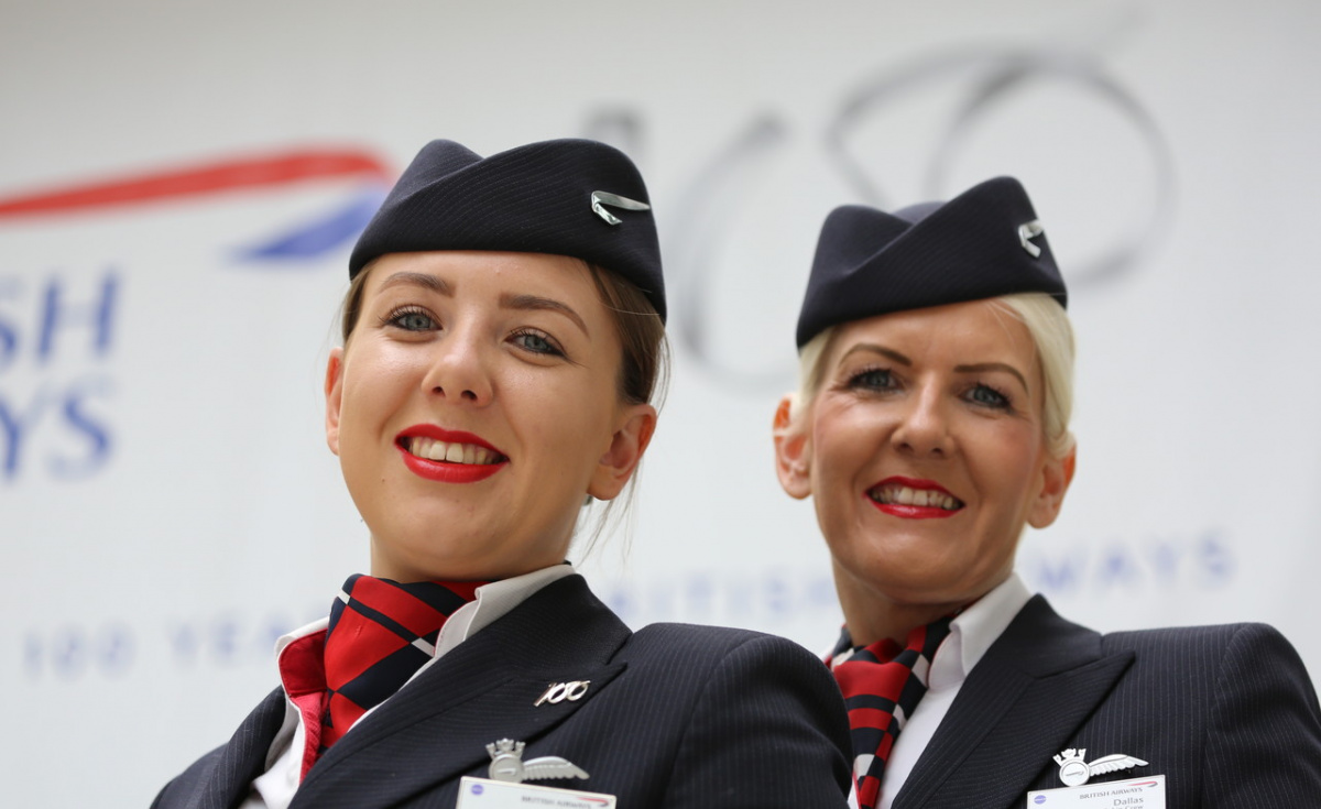 Both daughter and mother now serve as cabin crew for British Airways.