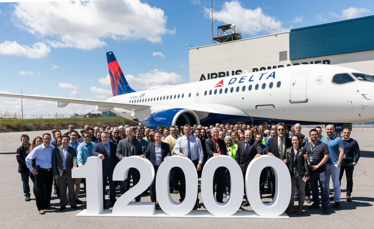 Back in January, the company broke ground in Mobile, Alabama for the construction of a second A220 final assembly line. Once completed, the line will begin deliveries to US customers from 2020.