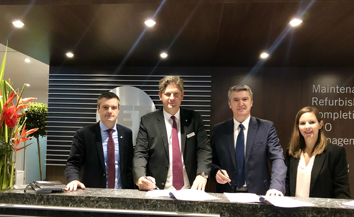 As per the FBO service agreement, Jet Aviation will serve as Wijet's preferred handling services provider in Europe.