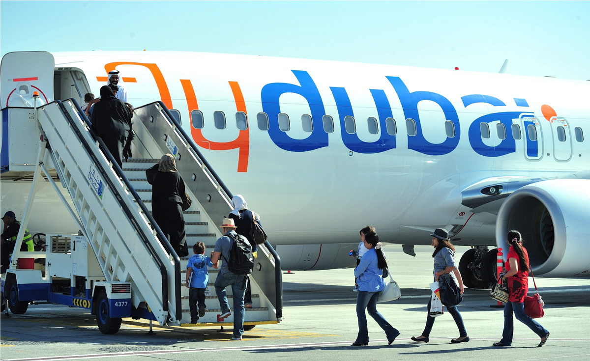 Flydubai, Emirates, Terminal 3, Dubai international airport