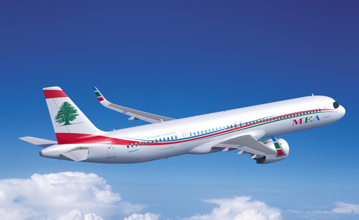 MEA recently signed an order for four A321XLR and will use them to strengthen its network in Africa and Asia