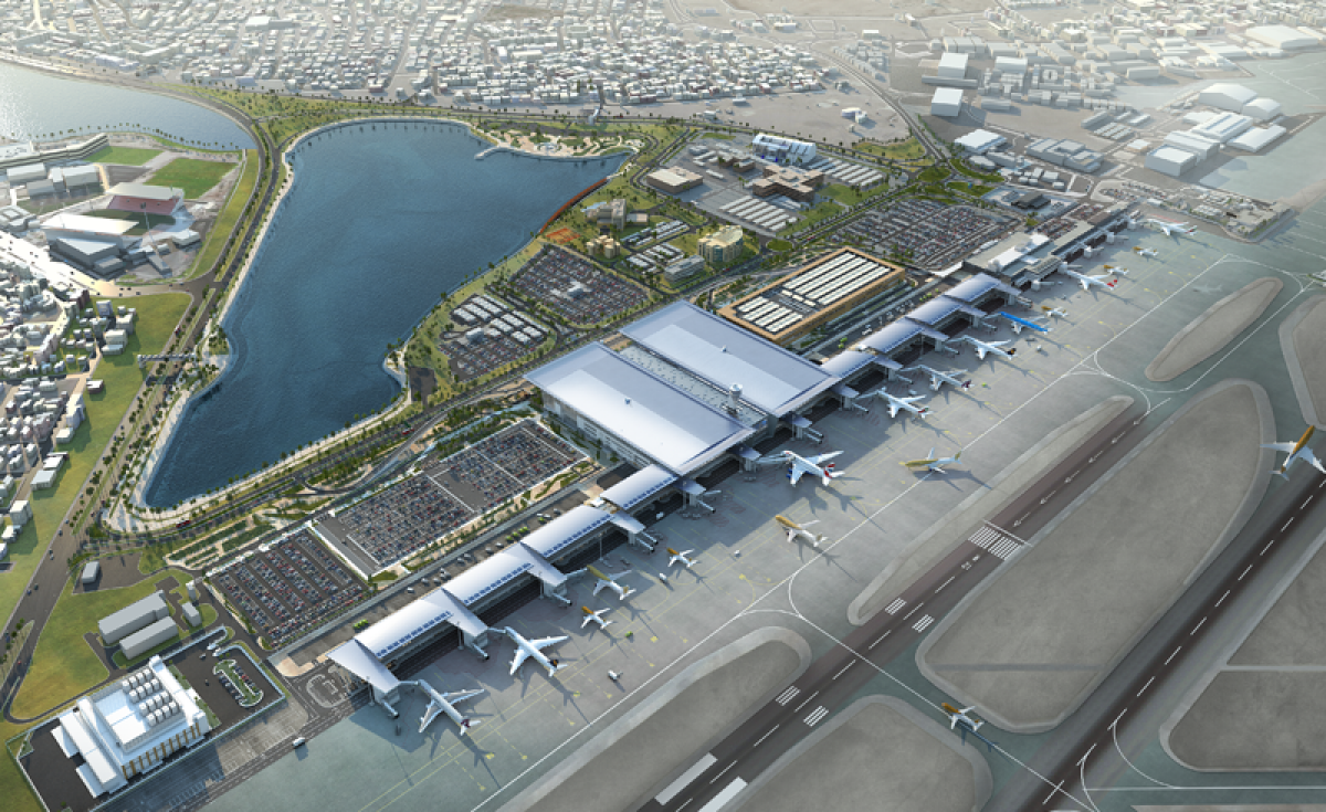 Bahrain International Airport's new passenger terminal will open in Q3 2019.