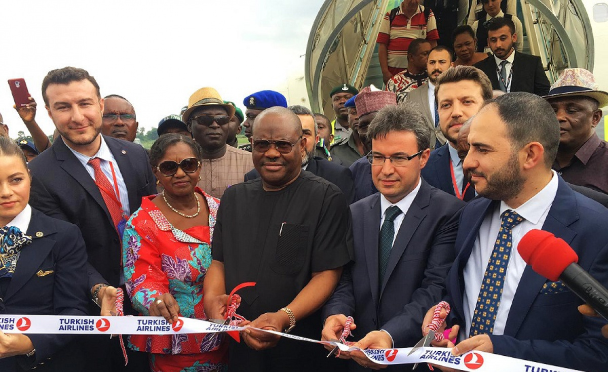 Adding to existing flights that include Lagos, Kano and Abuja in Nigeria, the new addition of Port Harcourt increases Turkish Airlines' flight network to 311 destinations.