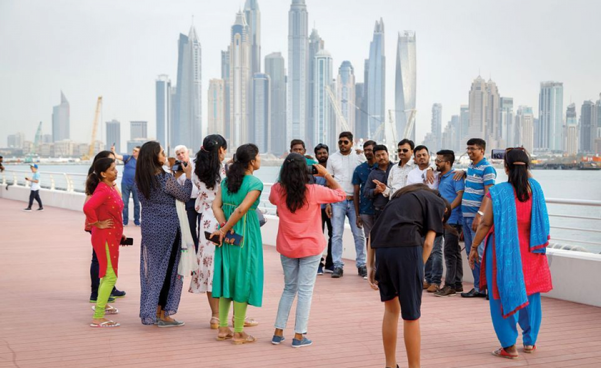 The authority said that tourists can apply for family travel visas through approved travel and tourism offices in their home countries, as well as through the offices of UAE national carriers and benefit from the exemption.