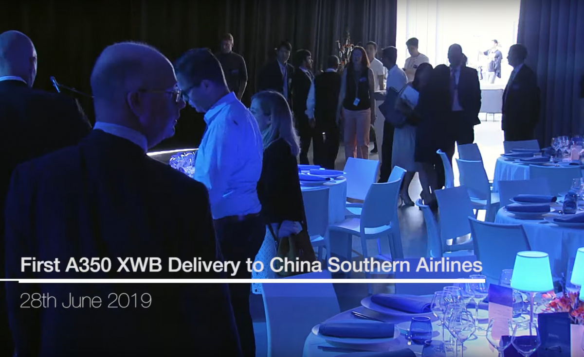 China Southern Airlines, Airbus, A350XWB, Aviation, Delivery, Aircraft, Aerospace Manufacturing