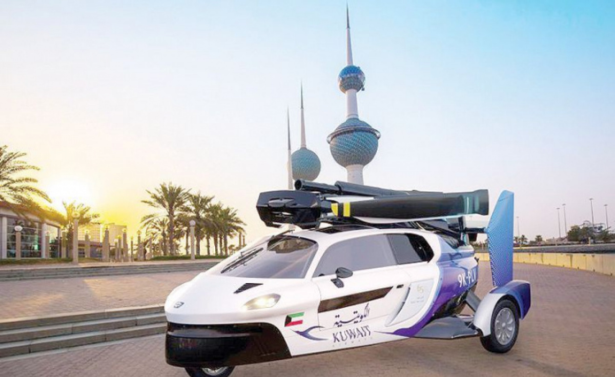 A memorandum of understanding (MoU) has been signed between Kuwait Airways Corporation (KAC) and the Dutch firm Personal Air Land Vehicle (PAL-V) flying cars company, where KAC will provide maintenance for the vehicles in the Middle East.