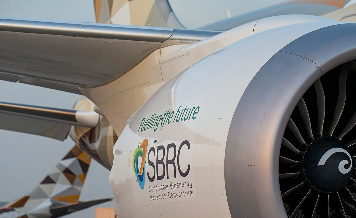 SBRC has developed a biofuel that will help decarbonise UAE skies and support food security.