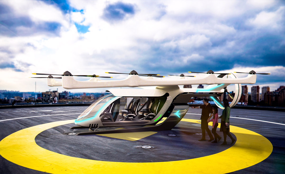 Electric VTOLs - working as air taxis - are envisaged to solve the problem of urban congestion, while cutting carbon emissions.