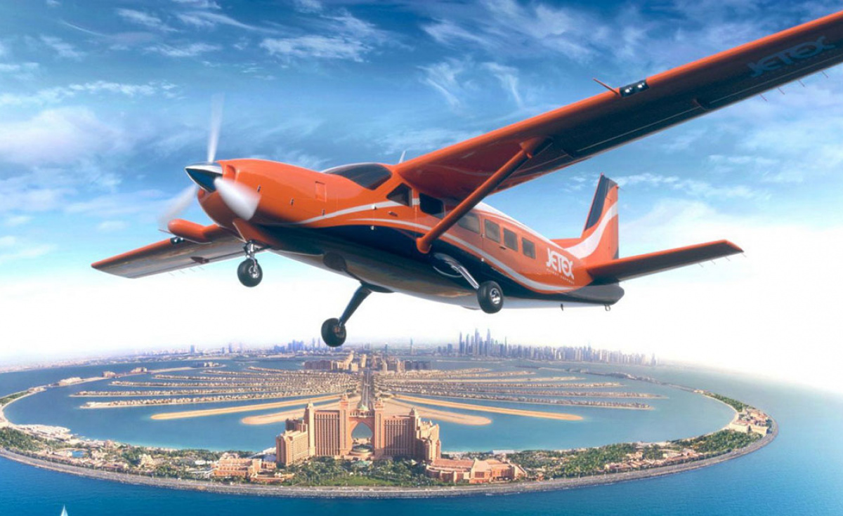 Jetex and Wright Electric are collaborating on an electric aircraft for the Middle East.
