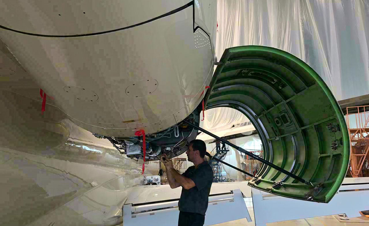 Gama Aviation is focusing on efficient flight procedures and operations to limit fuel burned.